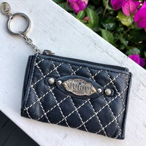 Juicy Couture Quilted Leather Wallet
